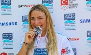 Marburger Freiwasserschwimmerin beim 29. Cross-continental Swimming Race: Nathalie Pohl erzielt weiteren Erfolg am Bosporus (FOTO)