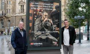 Samy Deluxe und Cro sind die Gesichter der neuen Channel Aid out of Home Kampagne