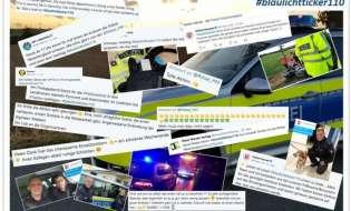 """POL-HM: #blaulichtticker110 ein voller Erfolg - Mehrere Tausend Bürgerinnen und Bürger waren mit der Polizei Weserbergland """"im Dienst"""""""